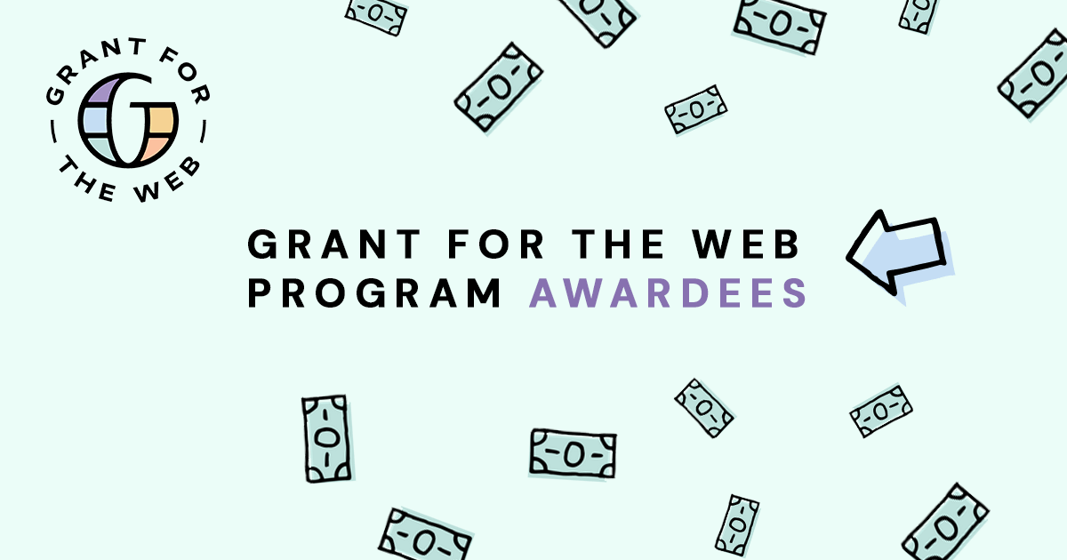 End3r's Corner - Grant for the Web awardees list