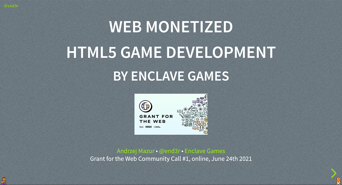 Enclave Games - Monthly June 2021: Grant for the Web 5x5