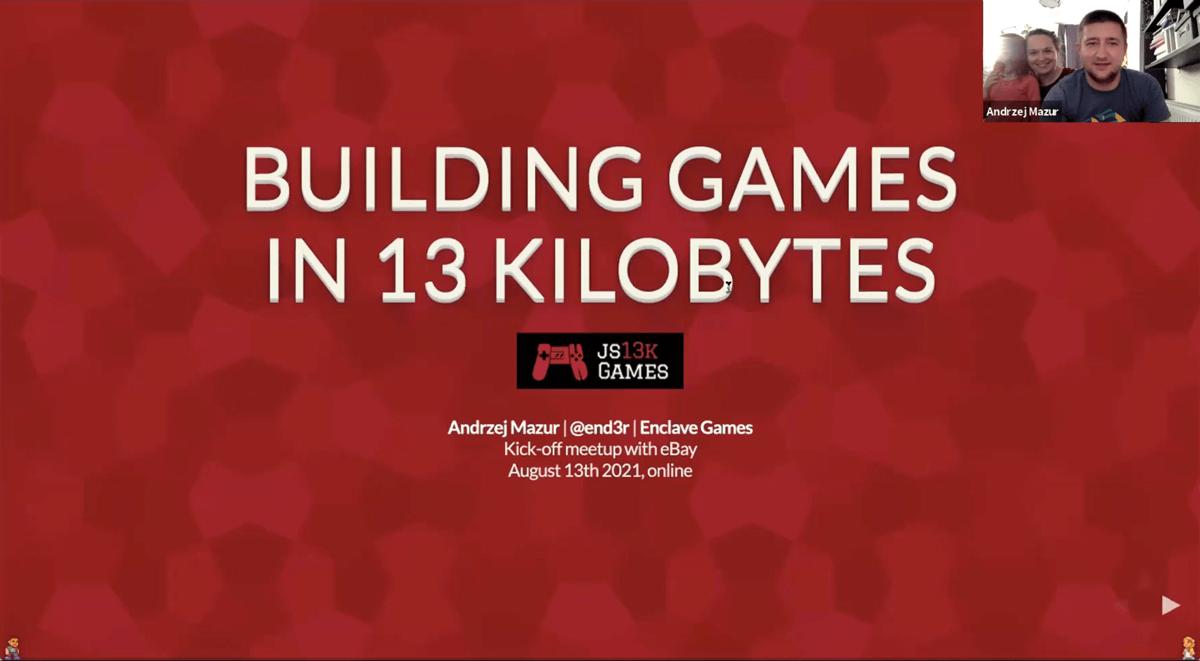 js13kGames 2021 kick-off