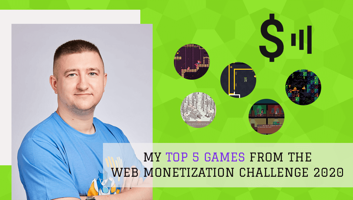 End3r's Corner - The Web Monetization Challenge 2020: top 5