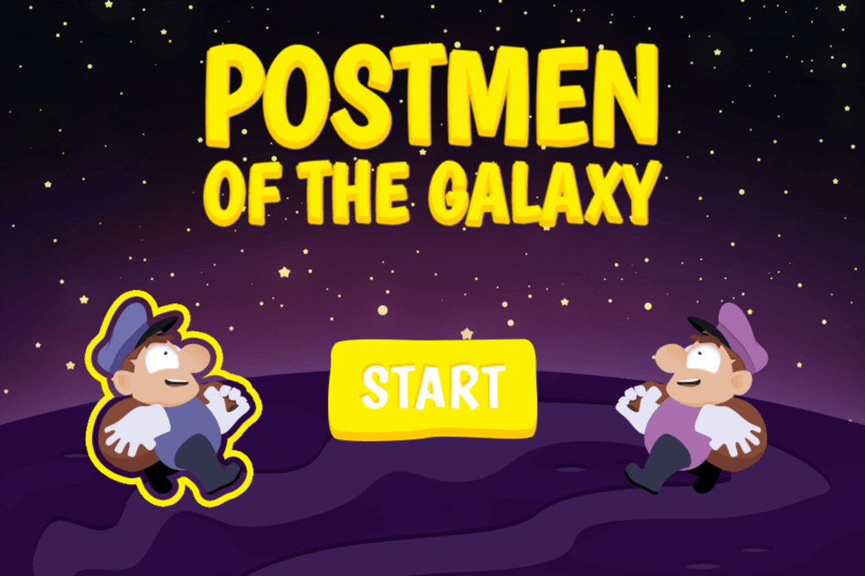 Postmen of the Galaxy: main menu