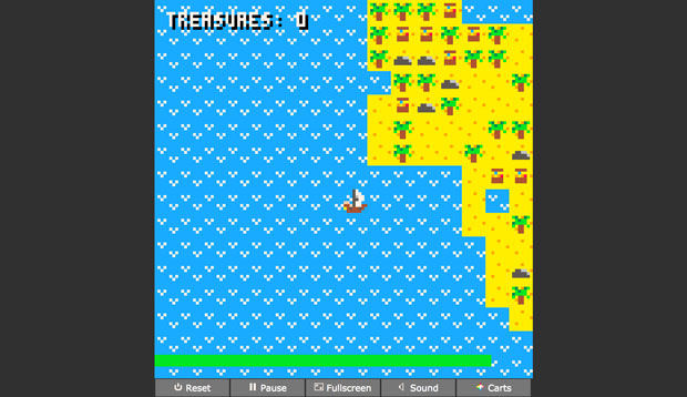 GameJam.js 2019: Pirate is Free