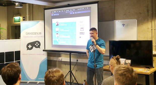 Gamedev.js Warsaw #11 with meet.js