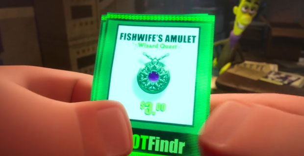 Fishwife's Amulet from Wizard Quest