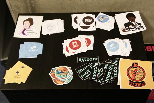 Gamedev.js Warsaw #12 with meet.js - stickers