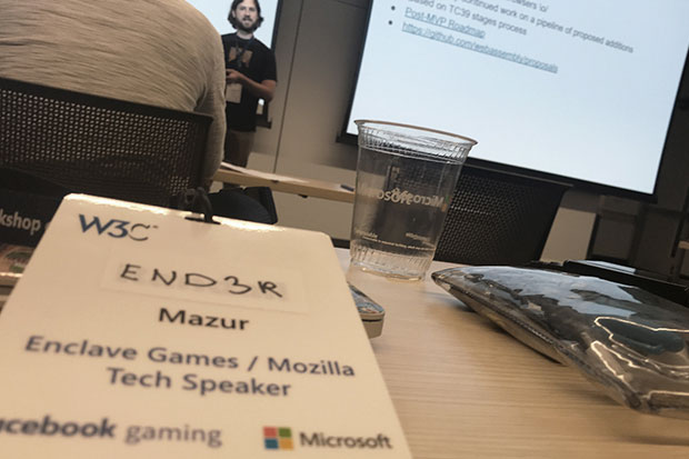 W3C workshop on Web Games 2019