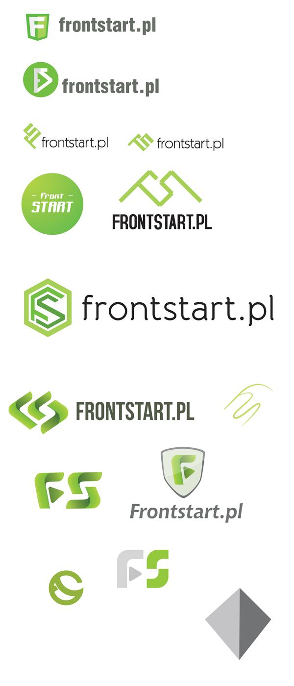 FrontStart.pl odrzucone loga
