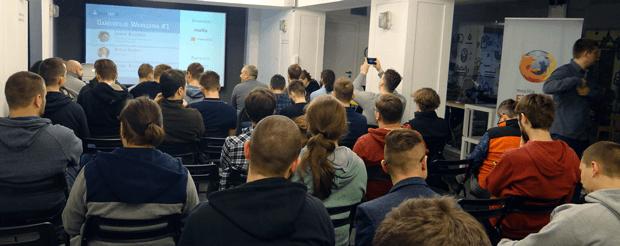 Gamedev.js Warszawa #1 people