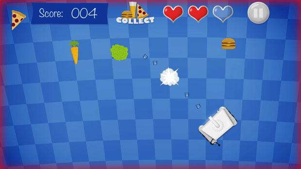Hungry Fridge - Gamepad API