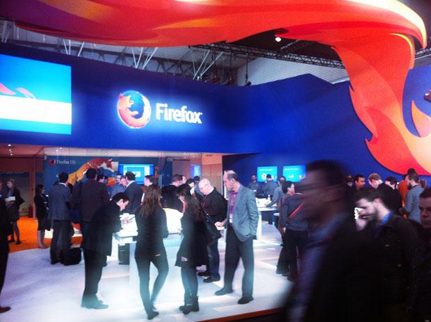 MWC Mozilla booth