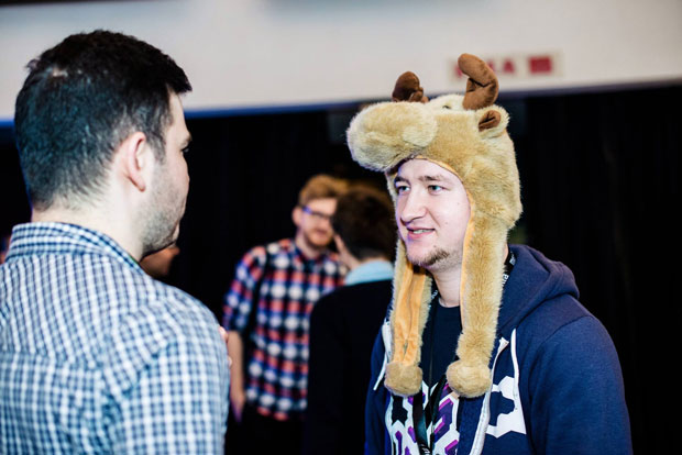 Meet.js Summit reindeer