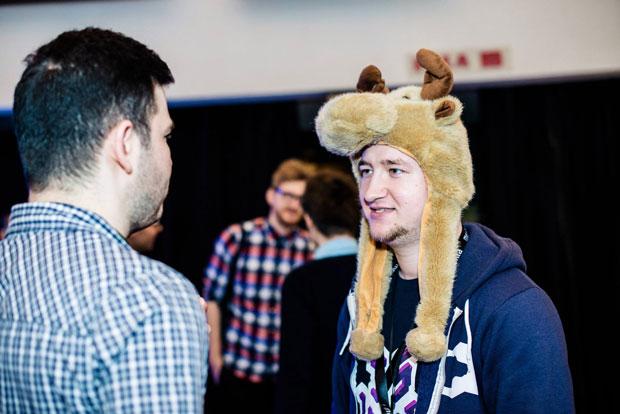 Meet.js Summit reindeer